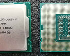 Intel Core i7-11700K was shown to trail AMD Ryzen 7 5800X in an early review. (Image Source: PCGamesHardware Forums)