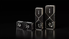The three RTX 30 series cards will be joined with at least four new SKUs in January. (Image source: NVIDIA)
