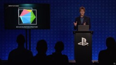 Sony's Mark Cerny talking about the Intersection Engine in the PS5's RDNA 2 GPU. (Image Source: PS5 Live Stream)
