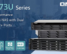 QNAP TS-x73U rackmount NAS with quad-core AMD R processors