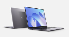 The Huawei MateBook 14 2021 is the spitting image of its predecessor. (Image source: Huawei)