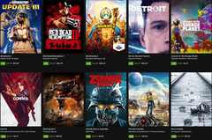 Dozens of games are included in the Epic Games Spring Sale 2020. (Image source: Epic Games)