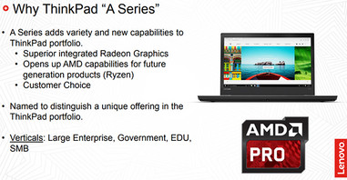 The new ThinkPad A-Series
