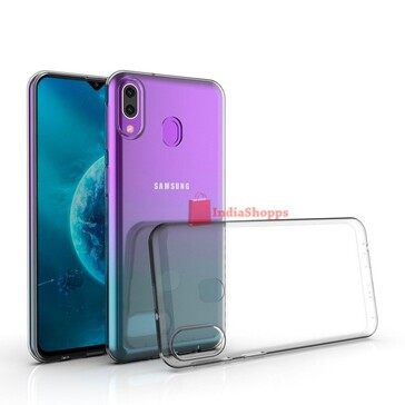 The Samsung Galaxy M30s' new purported renders. (Source: IndiaShopps)