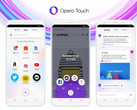 Opera Touch browser for Android (Source: Opera Blogs)