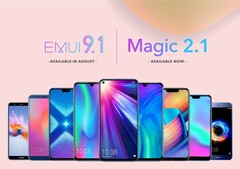Honor and Huawei are updating numerous devices to the latest EMUI version. (Source: Honor)