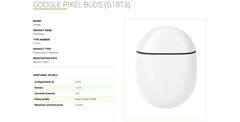 The possible Pixel Buds 2 charging case. (Source: WPC)