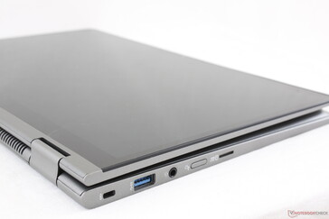 One of the easier 14-inch laptops to use as a convertible because of the low weight