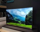 The Hisense 85-inch QLED XD 8K TV in Berlin. (Source: Hisense)