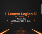 Lenovo debuts the Legion 5 in India. (Source: Twitter)