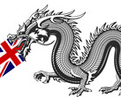 China is not happy with Britain's decision regarding Huawei. (Image via South China Morning Post, w/ edits)