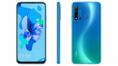 Renders of the P20 Lite (2019). (Source: Winfuture)