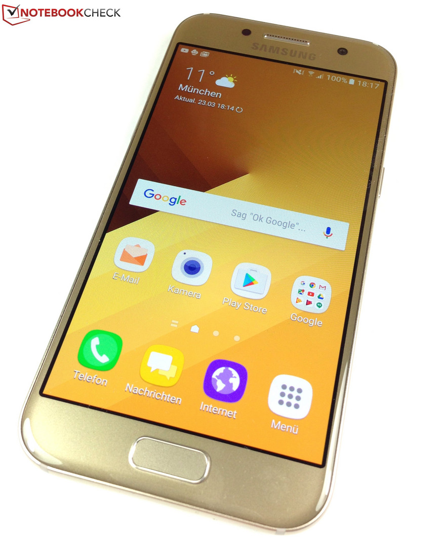 Samsung Galaxy A3 2017 Smartphone Review Notebookcheck