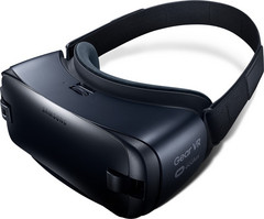 Samsung's Gear VR currently only works with Samsung phones. (source: Samsung)