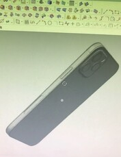 iPhone 12 render. (Image source: @Jin_Store)