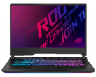 Striking gold. | Asus ROG Strix G GL531GV Laptop Review: Like a Zephyrus, but Cheaper