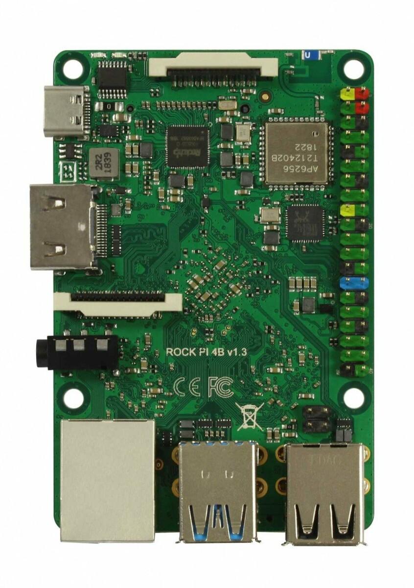 Rock Pi 4: A Rockchip RK3399 powered Raspberry Pi lookalike