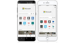 Microsoft Edge on Android and iOS handsets (Source: Microsoft)