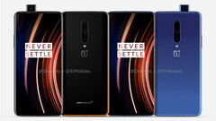 "The ""OnePlus 7T Pro McLaren Edition and 7T Pro"" renders. (Source: OnLeaks)"