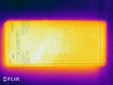 Thermal image - top side