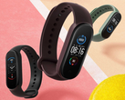 The Xiaomi Mi Band 5 supports up to 11 exercise modes. (Image source: Xiaomi)