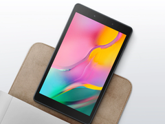 The Samsung Galaxy Tab A 8.0 (2019) is a compact Android tablet with deficits. (Image source: Samsung)