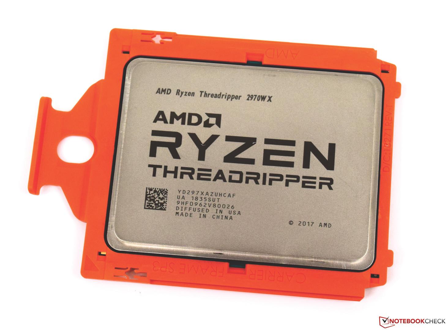 AMD Ryzen Threadripper 2970WX (24 Core, 48 threads) Desktop