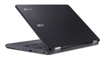 Acer Chromebook Spin 11 (R751T) rugged convertible in notebook mode