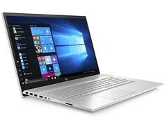 Do not upgrade to the HP Envy 17 for its Comet Lake-U CPU. (Image source: HP)