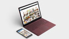 The Microsoft Surface Laptop 2 was released in October 2018. (Image source: Microsoft)