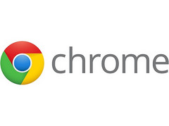 Google Chrome web browser logo, Chrome now fastest Windows 7 web browser
