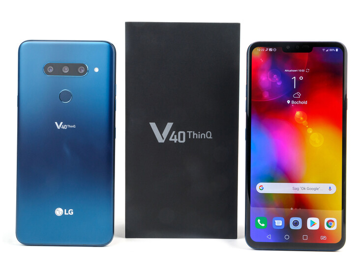 LG V40 ThinQ Smartphone Review - NotebookCheck net Reviews
