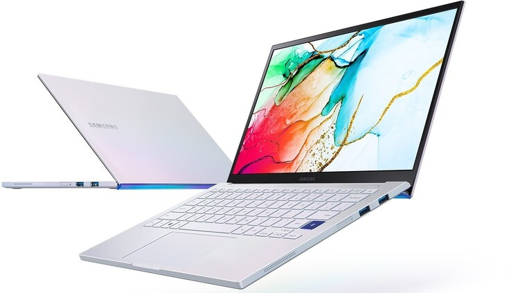 Samsung Galaxy Book Ion 13.3 Review: Subnotebook with QLED display -  NotebookCheck.net Reviews
