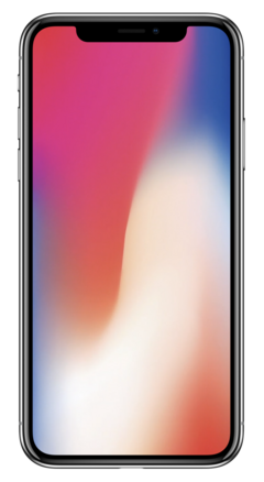 The iPhone X gets the same 3 GB of RAM as the 8 Plus, but larger battery. (Source: Apple)