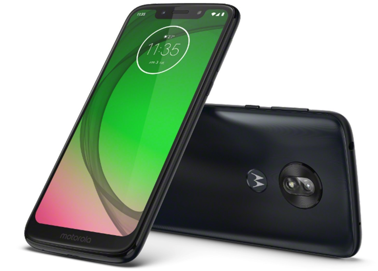 The entry-level Moto G7 Play starts from US$200 and is coming this spring. (Source: Motorola)
