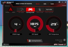 Asus GPU Tweak II (Gaming mode)