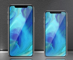 The 6.5-inch and 5.8-inch OLED iPhones expected to be released in 2018. (Source: KGI Securities)