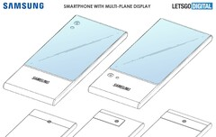 One diagram from the alleged Samsung patent. (Source: LetsGoDigital)