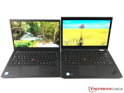 X1 Carbon (left) vs. X1 Yoga (right)
