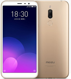 Meizu M6T Android smartphone with dual camera and MediaTek MT6750 processor (Source: Meizu)