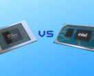 AMD Cezanne and Intel Tiger Lake battle it out in the 35 W TDP segment. (Image Source: Intel/AMD with edits)
