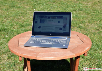 HP Spectre 13 in sunlight
