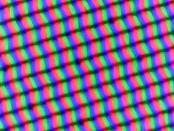 Subpixel matrix in the Lenovo ThinkPad T15p