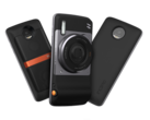 The Moto Mod system relies on a series of magnets and contact pins to connect onto the back of the Moto Z phones. (Source: Motorola)