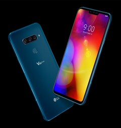 The LG V40 ThinQ. (Image source: LG)