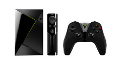 Nvidia's new SHIELD TV can stream games from either a PC with an Nvidia Pascal-based GPU or Nvidia's Geforce NOW service. (Source: Nvidia)