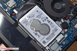 The internal hard drive