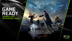 NVIDIA recommends using a GeForce RTX 2080 Ti to achieve 60 FPS in FFXV at 4K with maximum graphics and DLSS enabled. (Source: NVIDIA)
