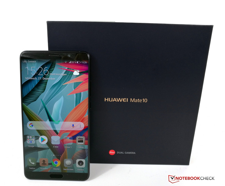 Huawei Mate 10 Smartphone Review - NotebookCheck net Reviews