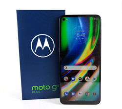 In review: Motorola Moto G9 Plus. Test device provided by Motorola Germany